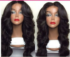 Malaysian  Lace Front  wigs 100%   Human  Hair  Remy curly wave 4  color