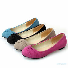 Womens Ladies Flats Low Heels Court Shoes Sandals Loafers Pumps AU Size Z561