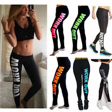 Womens Gym Sports Athletic Workout Fitness Training Yoga Pants Compression Pants
