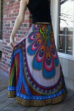 New FLYING TOMATO Boutique Boho Gypsy Long Maxi Skirt - Small/Med/Large