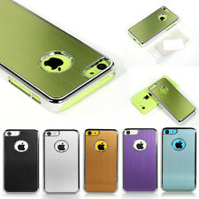 Aluminum Heavy Duty Rugged Hard Case Cover For Apple iPhone 5C +Screen Protector