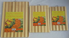 New Quality Wooden Bamboo Chopping Cutting Board Ideal For Vegetable Food Meat