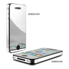 Mirror Reflect Screen Protector Cover Guard Film for iPhone 4 4S 5 5S 5C 6 Plus