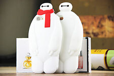 For iPhone Samsung 3D Cartoon BayMax Robot Hero Animal Rubber Cell Phone Case