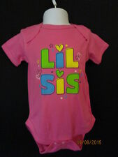 """NEW LITTLE SISTER ONESIE """"LIL SIS"""" BIG & LIL SIS T-SHIRT ALSO LISTED TOO"""