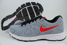 NIKE REVOLUTION 2 GS MAGNET GRAY/RED/BLACK/WHITE RUNNING BOYS KIDS US YOUTH SIZE