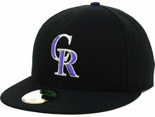 "Colorado Rockies ""MLB Authentic Collection"" New Era 59FIFTY Fitted Hat Cap NEW"