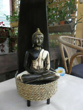 Buddha Coco Frond Table Lamp (varieties)