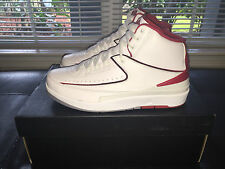 Air Jordan 2 Retro Varsity Red Size 7.5-9.5 B Grade New Deadstock With Receipt