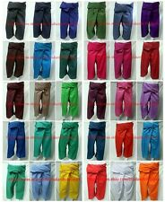 Original Thai Fisherman Pants Trouser YOGA Massage Rayon Cotton Long Warp Unisex