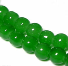 Wholesale :4-16mm Green Jade Round Gemstone Loose Beads 15""
