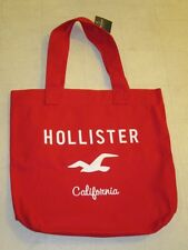 Hollister By Abercrombie Womens SoCal Tote Bag Red  - NWT