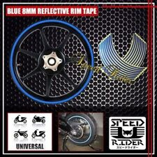 "REFLECTIVE RIM TAPE WHEEL DECAL STICKER SET 17 INCH 17"" for MOTORCYCLE CAR  BIKE"
