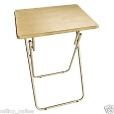 FOLDING TABLE WOODEN METAL MULTI PURPOSE HOME OFFICE STUDY LOW PRICE NEW QUALITY