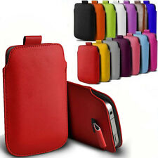 Full Case Cover For Various Mobile Phone Leather Pouch Clip Belt Flip Leather