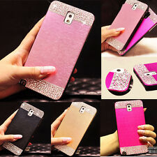 Luxury Bling Crystal & Diamond Hard Back Case Cover For Samsung Galaxy S6 S5 S4