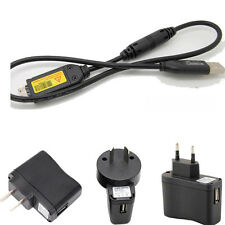 USB AC/DC Battery Power Charger Adapter Cord cable for Samsung HZ25W HZ30W_bx