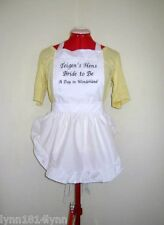 "PERSONALISED ""DAY IN WONDERLAND"" APRON Bridal, Birthday, all parties Diff color"