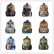 Cool 3D Animal Backpack Small Children School Bag Baby Toddle Kids Outdoor Bags