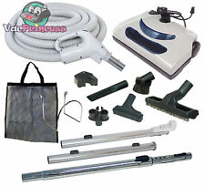 30' or 35' Central Vacuum Kit w/Hose, Power Head & Tools Nutone Beam Electrolux