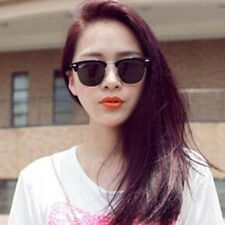 Retro Half Frame Clubmaster Style Sunglasses Classic Frame Mirrored Sunglasse SY