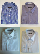 New Mens Shirt - Non Iron Pure Cotton Long Sleeve Shirt - Excellent Quality