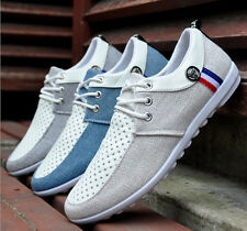 2015 New Men's shoes Summer Casual Canvas breathable Sneakers Lace up Shoes