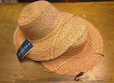 Broner Womens Straw Summer Hats One Size Fits All Brand New with Tags
