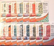 Sally Hansen Salon Effects Real Nail Polish Strips *YOU CHOOSE COLOR** NEW