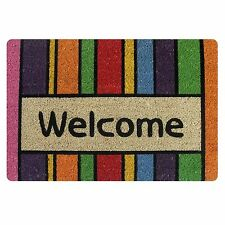 Fashion Welcome Doormat Area Floor Rug Carpet Entrance Door Mat Bathmat ALFOBANA