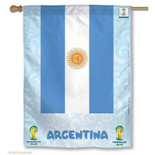 World Soccer Argentina National Team FIFA World Cup House Flag