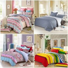 King/Queen/Double/Single Size Bed Quilt/Doona/Duvet Cover Pillowcases Set New