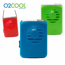 O2COOL Deluxe Neckless Fan FN02001 New Fun Colour Portable Battery Operated Fan