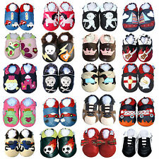 Free Shipping SoftSole Leather Boy Girl Baby Infant Children Kid Gift Shoes 0-3Y