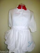 """PERSONALISED IN WONDERLAND"" APRON Bridal, Birthday, all parties Diff color M2O"