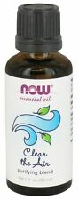 NOW Foods - Clear the Air Essential Oil Blend - 1 oz. - New Sealed