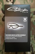 Smith Optics Asian Fit Boogie Regulator Ballistic Goggles Black w/ Ignitor
