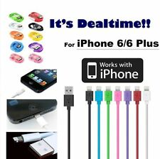 8 Pin Apple iPhone 6 6 Plus USB Lightning Cable Charger Data Sync iPhone 5 5s