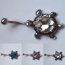 Cute Turtle Belly Bar Exquisite Navel Ring Body Jewellery