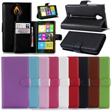 Luxury PU Leather Wallet Stand Magnetic Case Skin Cover for Nokia Lumia phones