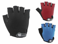 Blue Red Unisex Cycling Half Finger Short Gloves Riding Mountain Outdoor M-XL
