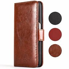 Snakehive® Samsung Galaxy S6 Premium Leather Folio Wallet Flip Case w/Card Slots