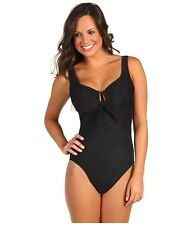 NWT MSRP $162 - MIRACLESUIT Sandra D One-Piece, Various Sizes, DD-Cup, Black  *