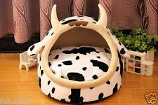 Cartoon Cow Pet Product Supplier Puppy Dog House Bed Cat House Bed Sofa S, M, L