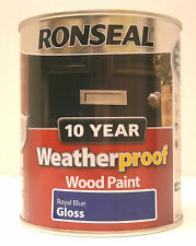 Exterior Wood Paint Ebay