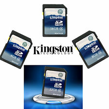 Kingston Class 4 10 SD SDHC 4GB 8GB 16GB 32GB Memory Card for Camera GPS Tablet