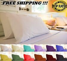 QUEEN & KING 1800 THREAD COUNT EGYPTIAN COTTON QUALITY 6 PIECES SHEETS SET
