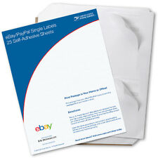 New USPS Click-N-Ship eBay/PayPal Single Labels (100 pack)