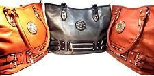 Fashion new women handbag shoulder bag large tote satchel Faux Leather