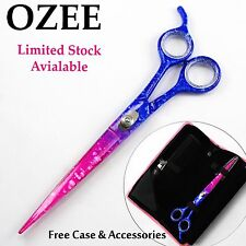 Pet Grooming Japanese Scissors Dog/Cat Hair Cutting/Trimming Shears Trimmer+Case